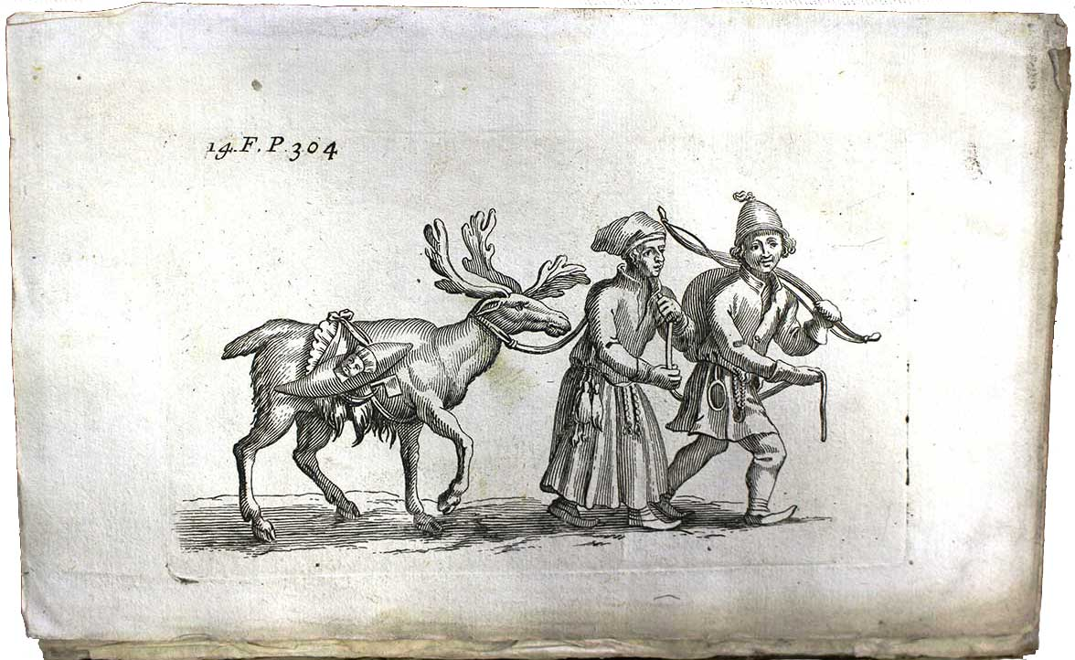 Page from Johannes Scheffer's The history of Lapland