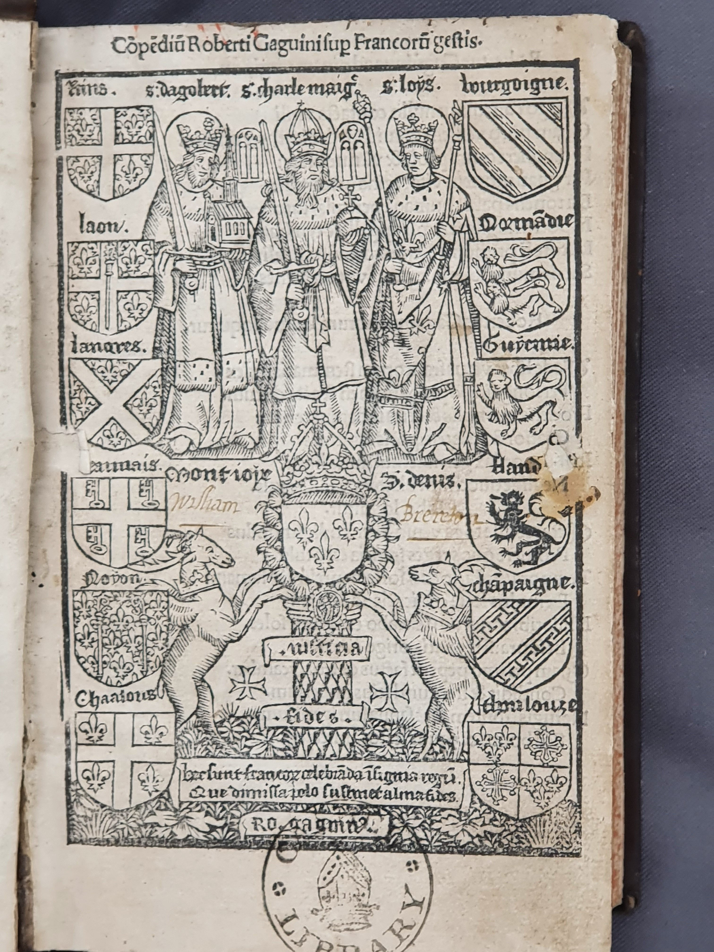 Title page of Bolton I.17.25