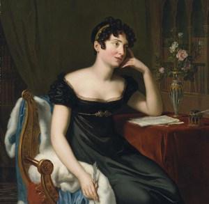 Portrait of Lady Morgan