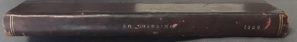 Spine of An Duanaire