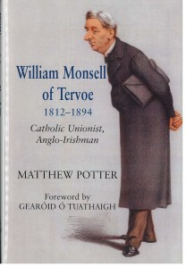 cover of William Monsell of Tervoe by Matthre Potter, featuring artwork of a man in a coat