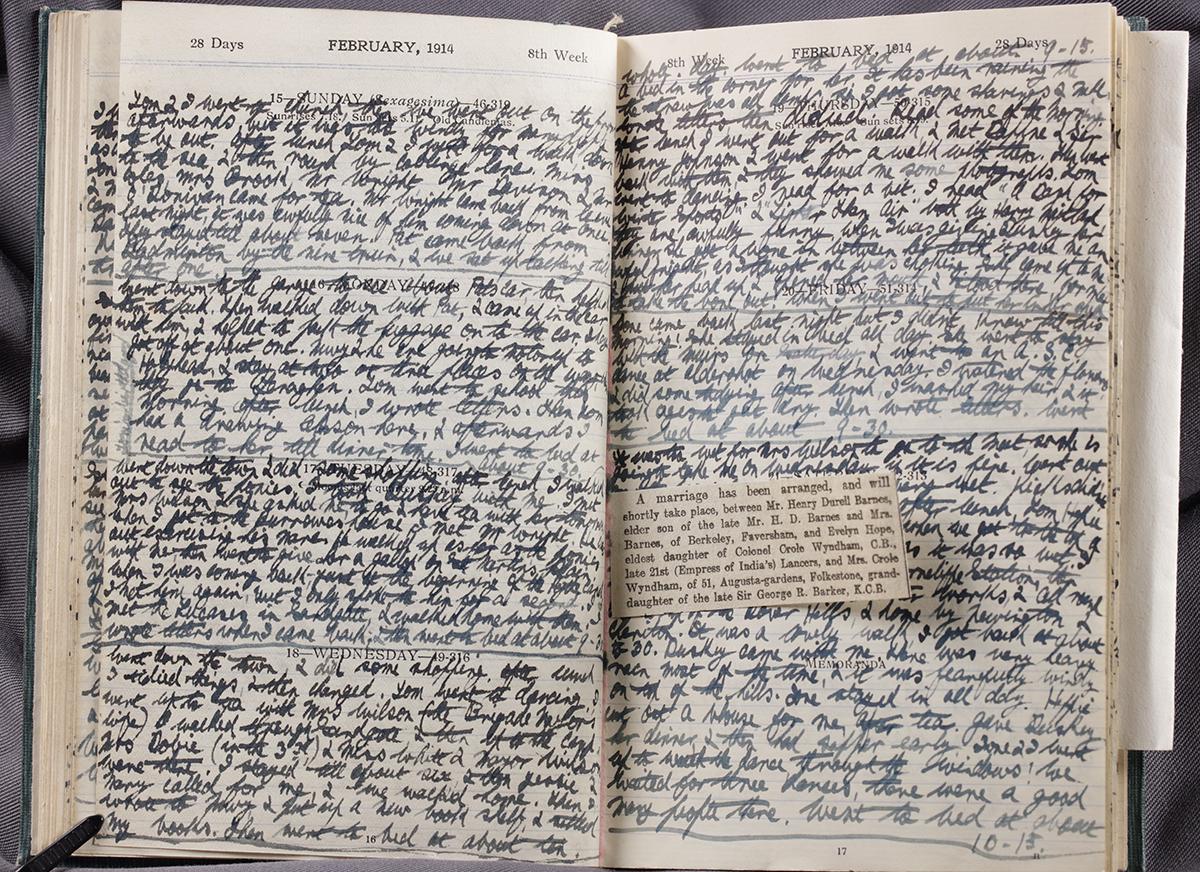 Diary P6/1769