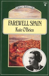 Front cover of Kate O'Brien's 'Farewell Spain' travelogue.